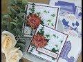 Card Making Magic - Traditional Poinsettia