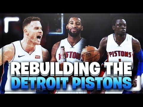 REBUILDING THE DETROIT PISTONS! NBA 2K18 MY LEAGUE