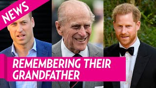 Prince Harry And Prince William Remember Their Grandfather