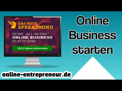 Online Business starten mit Spreadmind All in One