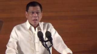 Duterte: Don't use human rights as excuse to destroy PH
