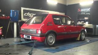 Reprogrammation Moteur Peugeot 205 gti 130cv @ 137cv