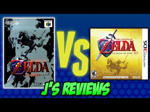 The Legend of Zelda Ocarina of Time Review (N64 vs. 3DS)