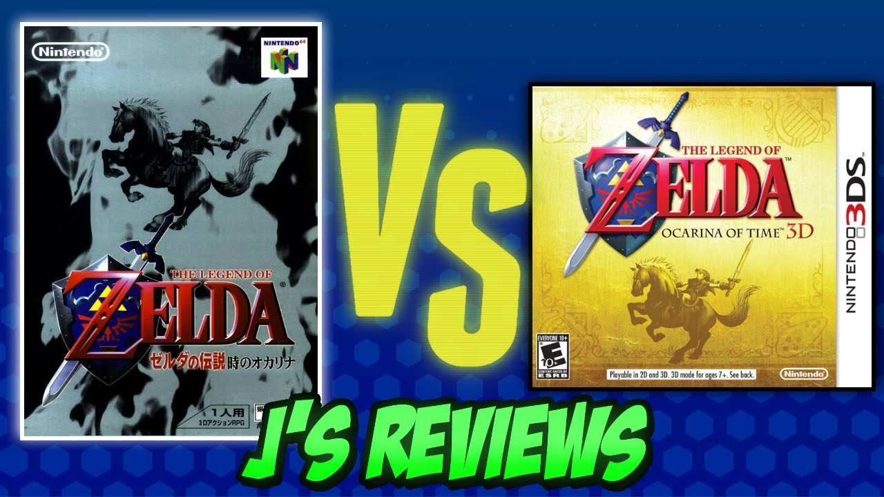 The Legend Of Zelda Ocarina Of Time Review N64 Vs 3ds