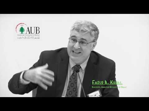 6 AUBPU: Keynote speech by Fadlo R. Khuri