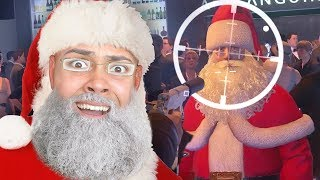 KILLING SANTA CLAUS !!! (Hitman Christmas DLC)