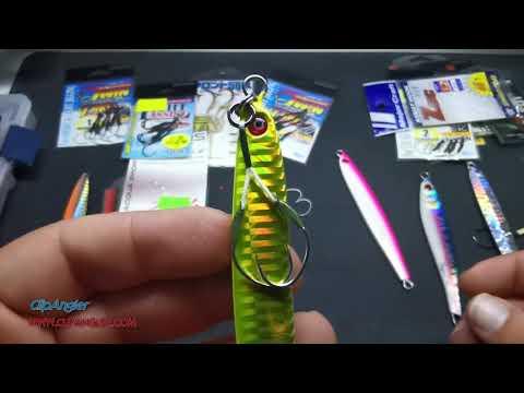montaggio assist hook su jig metal jig e long jig - clipangler