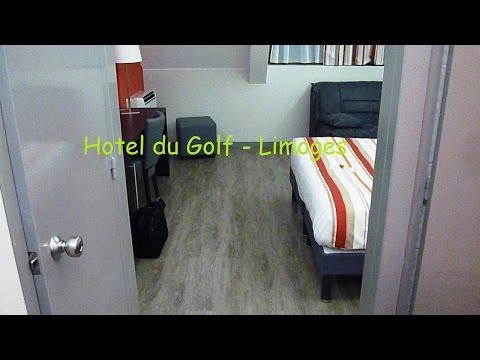 Video travelling d'une chambre de l'Hotel du Golf - Limoges ♦ HOTEL EN FRANCE