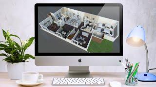 google sketchup Design Simple house in urdu