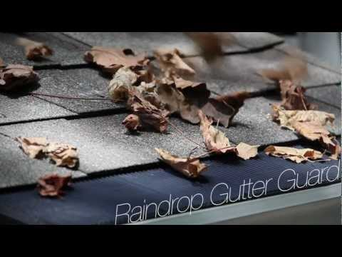 wind-and-water-test-for-raindrop-gutter-guard