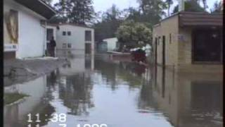 Powódź Ustronie Morskie 1996