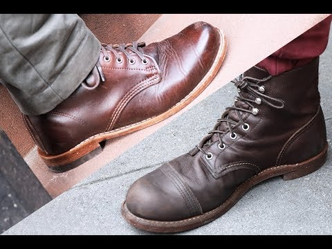 c07494c7f7 FIGHT! Red Wing Vs. Wolverine  Which Is the Better Boot  - YouTube