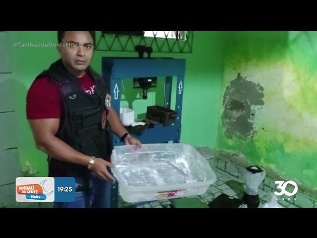 Polícia desarticula laboratório de refino de cocaína -  Tambaú da Gente Noite
