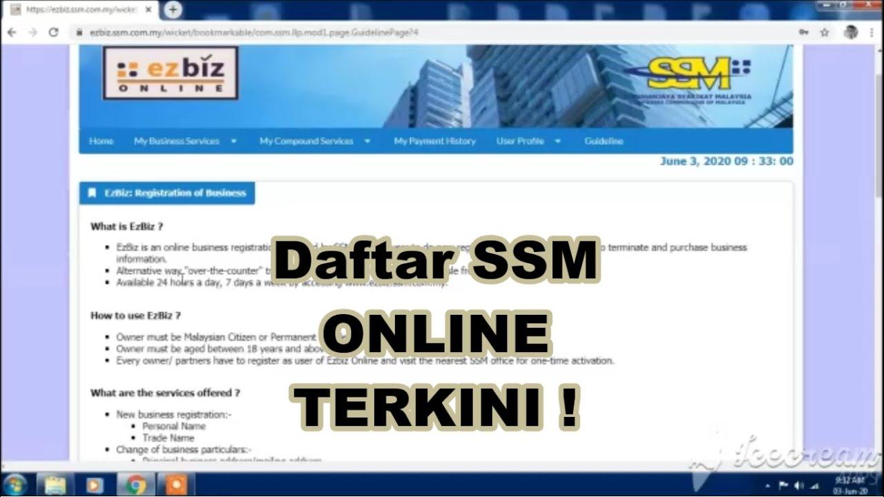 Cara Daftar Ssm Online Terkini 2020 Sasharing Themelower