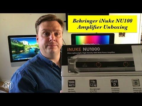 Behringer iNuke NU1000 Unboxing TiM
