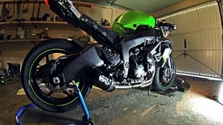 Two Brothers Full System Exhaust  VS Scorpion Slipon Comparison | Kawasaki ZX6R