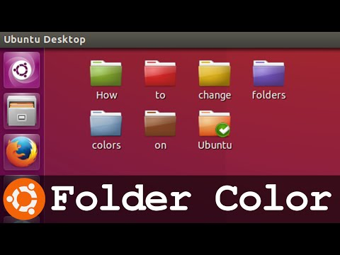 How To change Folder Color and Marker on Ubuntu and derivatives - Fast and Easy Tutorial