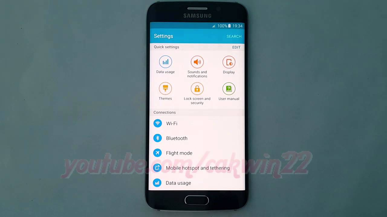 Android lollipop how to enable or disable authorise wireless android lollipop how to enable or disable authorise wireless display devices on samsung galaxy s6 youtube xflitez Images