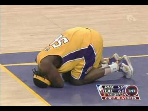First Game I Watched With Kwame Game 3 2007!!! AMAZING effort after injury AND DOMINANATES AMARE!