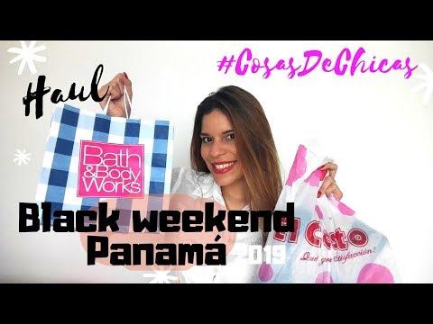 BLACK WEEKEND PANAMÁ 2019🛍️ [EXPERIENCIA / COMPRAS]