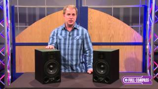 "ADAM Audio A7X 7"" Near-Field 2-Way Active Studio Monitor Overview 