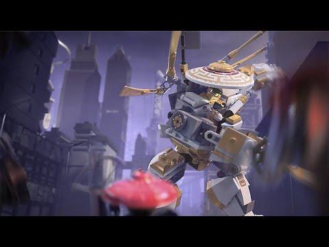 Мастера Кружитцу LEGO NINJAGO: Золотой робот