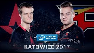 CS:GO - Astralis vs. FaZe [Cache] Map 1 - Grand Final - IEM Katowice 2017