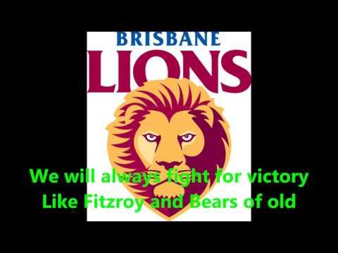 Brisbane Lions theme song (Lyrics) AFL Sing-A-Long