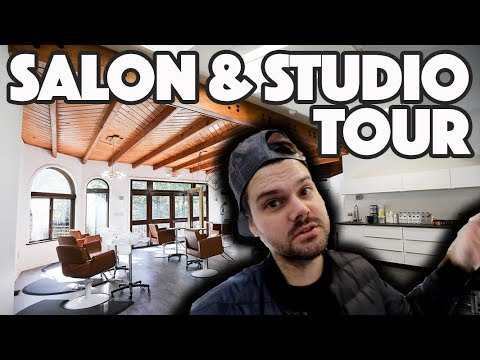 Salon And Studio Tour Video | MATT BECK VLOG