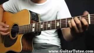Tambay (acoustic) - Spongecola by www.GuitarTutee.com.wmv