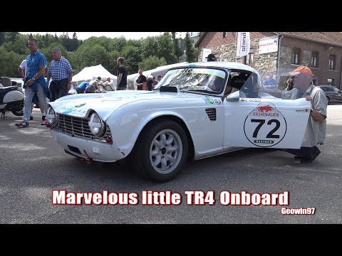 |ONBOARD| Triumph TR4 At It's Best At Spa Summer Classic 2017