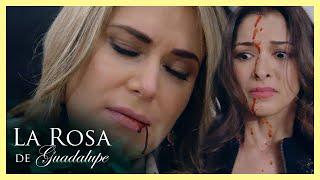La Rosa de Guadalupe: ¡Lola le arrebata la vida a Victoria!   El derrumbe