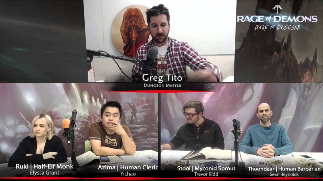 D&D - Out of the Abyss Live - Session 3 Part 1