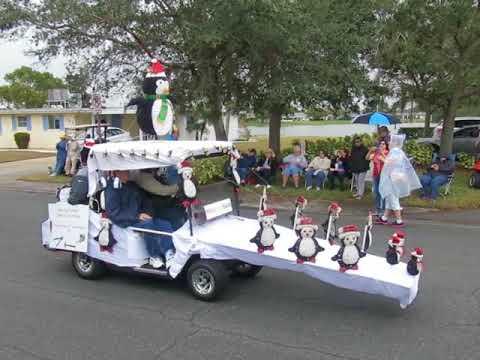 2017 Decorated Golf Cart Parade Sun City Center FL Combined final