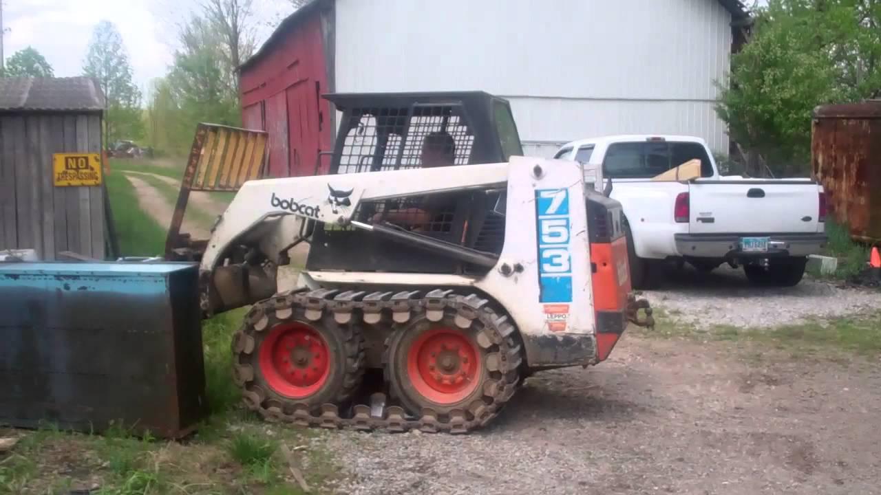 Greentown Bobcat 753 Mp4 Youtube