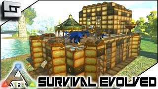 steampunk base expansion ark survival evolved s2e11 modded ark w pugnacia dinos