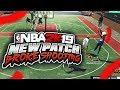 NEW NBA 2K19 PATCH BREAKS SHOOTING? NO MORE CONTESTED SHOTS!