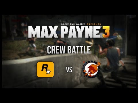 MaxPayne3 Crew Battle: Rockstar Games VS. Broken Whiskey Bottles