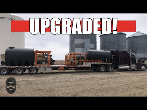 MAJOR Spray Trailer Upgrades!