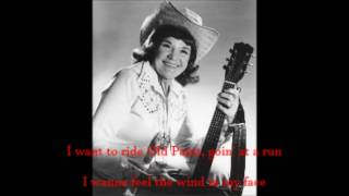 I want to be a cowboy's sweetheart Patsy Montana with Lyrics
