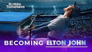 How Taron Egerton Became Elton John For Rocketman   Rotten Tomatoes