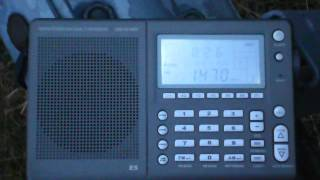 MW-DX 10.12.2012: unid 1.470 kHz: Radio Formula Mexico-City?? (1)