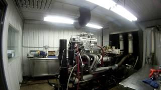 540 MOPAR Wedge Blown Pump Gas Engine