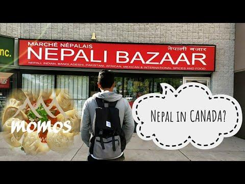NEPALI Bazaar & MO:MO Dumplings In CANADA