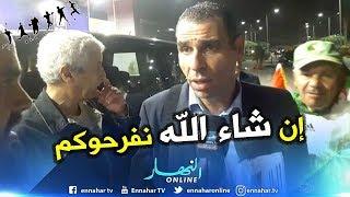 هذا ما قاله زطشي من مصر في حين إمتنع اللاعبين عن التصريح - الشباك الرياضي