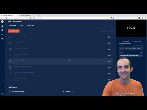 Adding Channels On Restream Io And Best Sites To Livestream Online