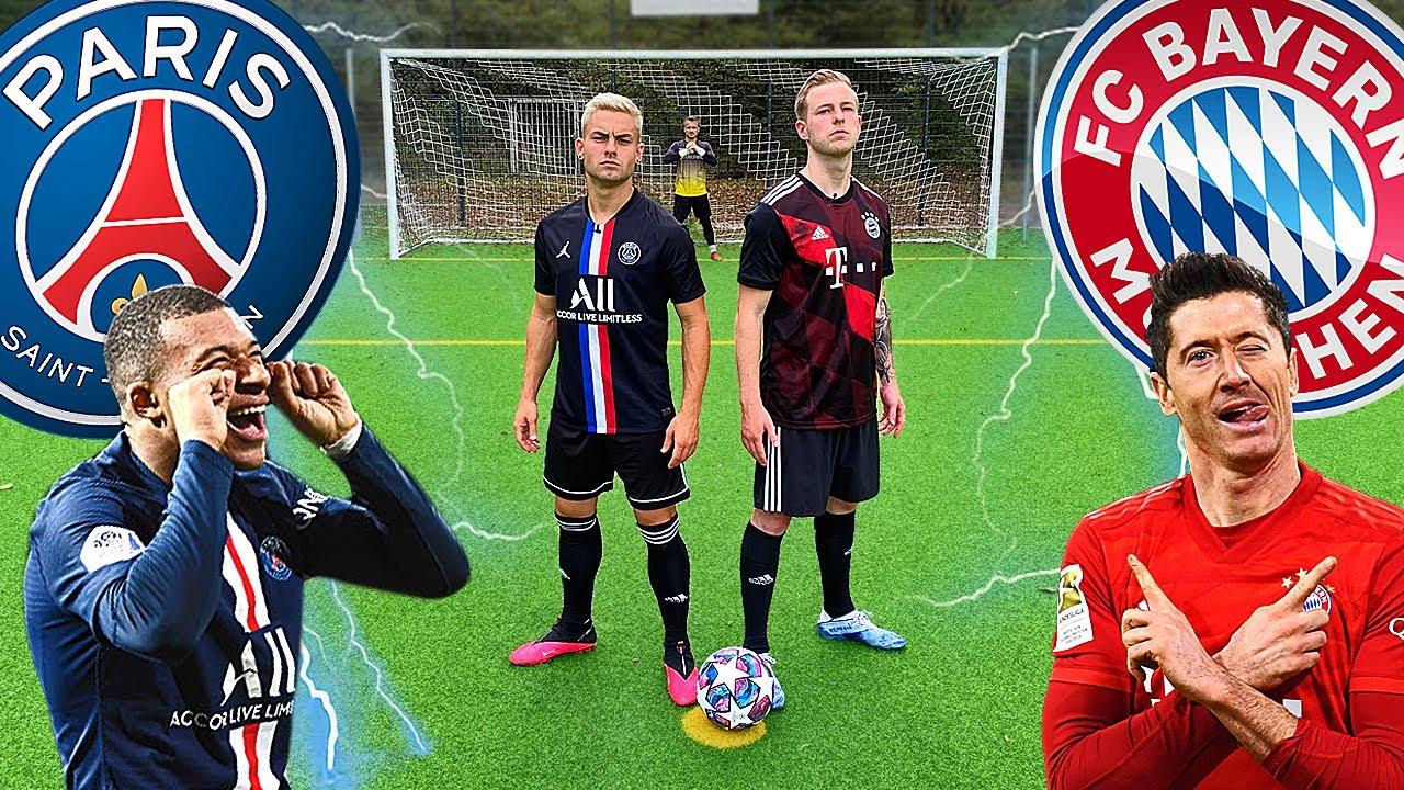 Download Mann VS Mann Vergleich Bayern Gegen PSG