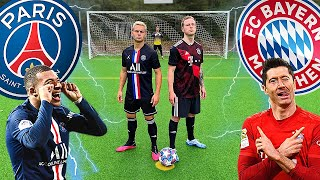FC Bayern vs PSG - Champions League Final 2020 | Football Challenges
