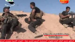 +18 شاهد القوات الخاصة تحبط هجوم عصابة داعش على سبايكر وجثث الدواعش تملئ المكان