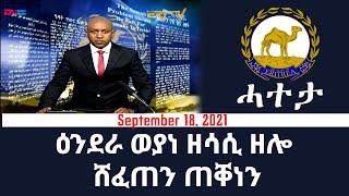 Download ዕንደራ ወያነ ዘሳሲ ዘሎ ሸፈጠን ጠቐነን - ሓተታ 18 መስከረም 2021 | Eri-TV Editorial, Sept. 18, 2021